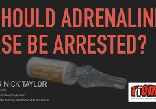 Should Adrenaline use be arrested?